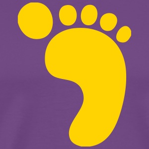 Big Footprint! - Men's Premium T-Shirt