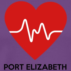 Heart Port Elizabeth - Men's Premium T-Shirt