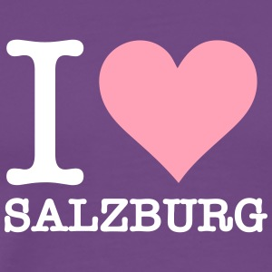 I Love Salzburg - Men's Premium T-Shirt