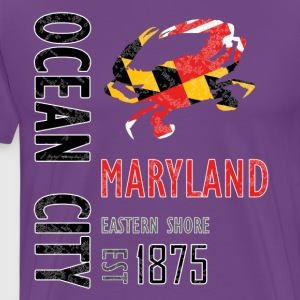 Ocean City Maryland Crab - Men's Premium T-Shirt