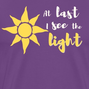 At Last I See The Light - Men's Premium T-Shirt