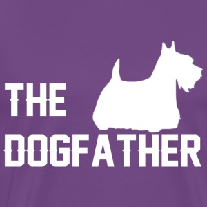 The dog father T Shirt - Men's Premium T-Shirt