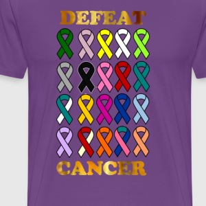 DEFEAT CANCER - Men's Premium T-Shirt