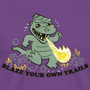 Blaze Your Own Trails - Men's Premium T-Shirt