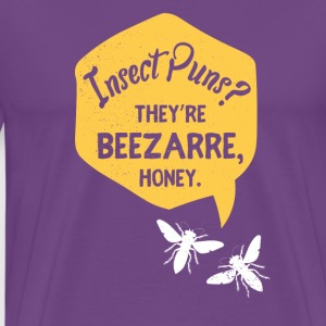 Insect Puns? They're beezarre, honey. - Men's Premium T-Shirt