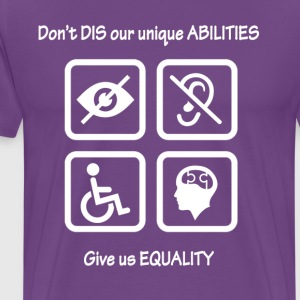 Equality for People with Disabilites - Men's Premium T-Shirt