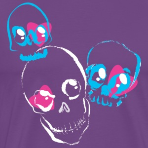 Loving skulls - Men's Premium T-Shirt