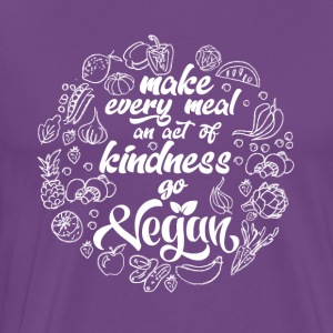 Make every meal and act of kindness - Men's Premium T-Shirt