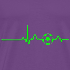 GIFT - ECG FOOTBALL GREEN - Men's Premium T-Shirt