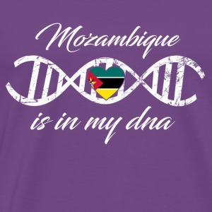 love my dna dns land country Mozambique - Men's Premium T-Shirt