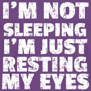 GIFT - I'M NOT SLEEPING WHITE - Men's Premium T-Shirt