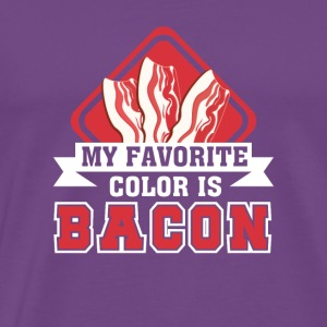 My Favorite Color Is Bacon Bacon Shirt - Men's Premium T-Shirt