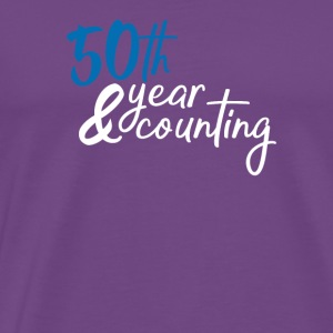 50 year counting - Men's Premium T-Shirt