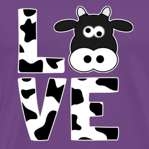 I love cows - Gift for farmers - Men's Premium T-Shirt
