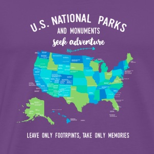 National Park and Monuments T Shirts - Men's Premium T-Shirt