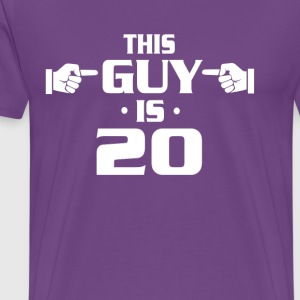 20th birthday shirts - made in 1997 shirts for men - Men's Premium T-Shirt