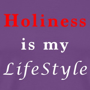 Holiness is my lifestyle - Men's Premium T-Shirt
