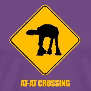 AT-AT Crossing - Men's Premium T-Shirt