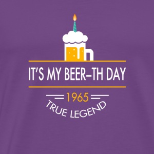 It s My Beer th Day 1965 True Legend - Men's Premium T-Shirt