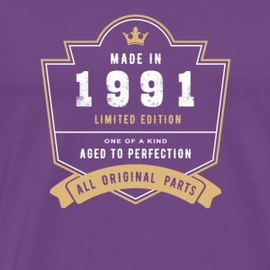 Made In 1991 Limited Edition All Original Parts - Men's Premium T-Shirt