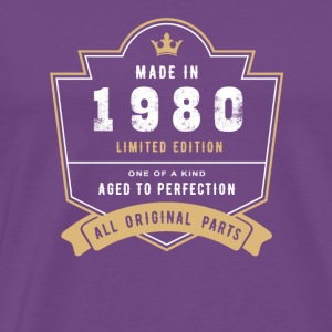Made In 1980 Limited Edition All Original Parts - Men's Premium T-Shirt