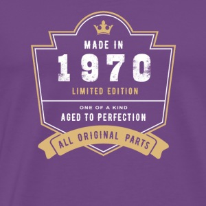 Made In 1970 Limited Edition All Original Parts - Men's Premium T-Shirt