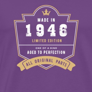 Made In 1946 Limited Edition All Original Parts - Men's Premium T-Shirt