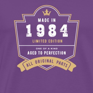 Made In 1984 Limited Edition All Original Parts - Men's Premium T-Shirt