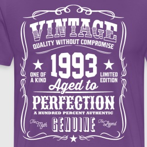 Vintage 1993 Aged to Perfection - Men's Premium T-Shirt