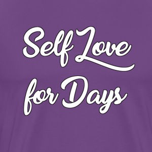 Self Love for Days - Men's Premium T-Shirt