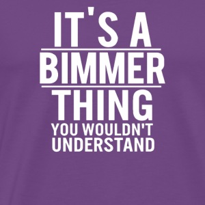its bimmer think - Men's Premium T-Shirt