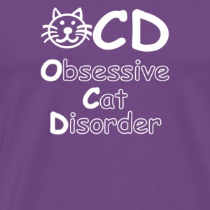 OCD Obsessive Cat Disorder - Men's Premium T-Shirt