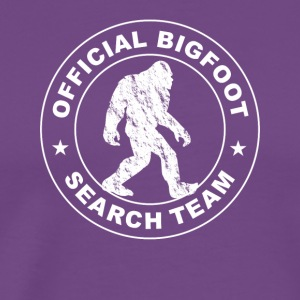 Official Big Foot Search Team T shirt - Men's Premium T-Shirt