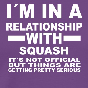 relationship with SQUASH - Men's Premium T-Shirt