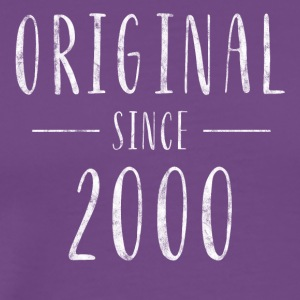 Original since 2000 distressed - Born in 2000 - Men's Premium T-Shirt