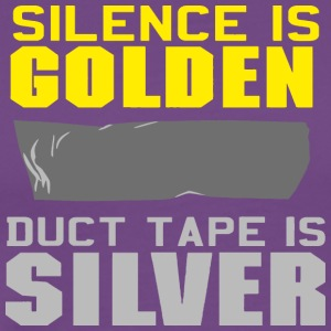 Silence is Golden - Men's Premium T-Shirt