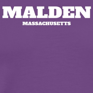 MASSACHUSETTS MALDEN US EDITION - Men's Premium T-Shirt