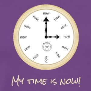My time is now - Men's Premium T-Shirt