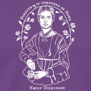 Emily Dickinson - Men's Premium T-Shirt