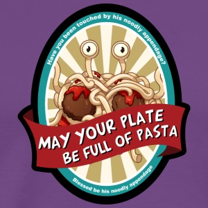 may your plate full of pasta - Men's Premium T-Shirt