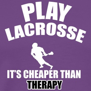 lacrosse designs - Men's Premium T-Shirt