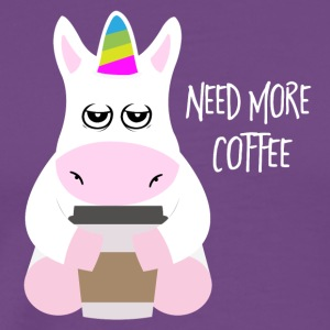 Need more coffee - Men's Premium T-Shirt