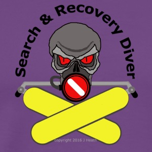 Search And Recovery Diver - Men's Premium T-Shirt