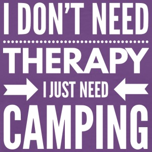 Camping therapy - Men's Premium T-Shirt