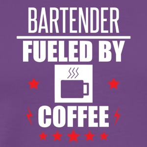 Bartender Fueled By Coffee - Men's Premium T-Shirt