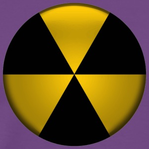 Radioactive Button - Men's Premium T-Shirt