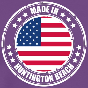 HUNTINGTON BEACH - Men's Premium T-Shirt