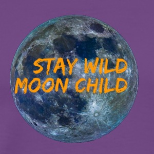 Stay Wild Moon Child 3 26 - Men's Premium T-Shirt