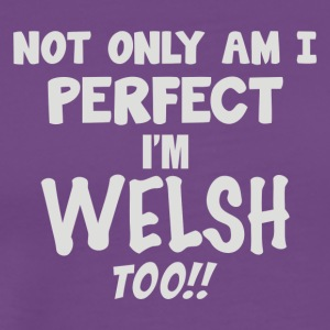 Perfect Welsh - Men's Premium T-Shirt