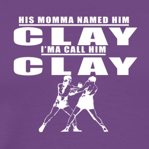CALL_HIM_CLAY - Men's Premium T-Shirt